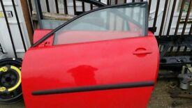 SEAT IBIZA FR DRIVERS DOOR IN LP3G RED