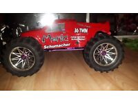 Nitro twin engine schumacher manic rc car