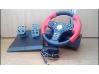 Logitech Steering Wheel (Formula Force Ex) Boxed and in perfect condition