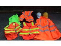 High Vis Waterproof Jackets & Waste Coats 2 Hard Hats
