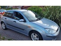 Ford focus zetec 12months mot cheap on fuel and tax aloy wheels