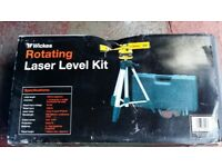 Rotating laser level kits