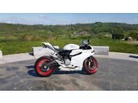 Ducati 899 White 2014 Rare