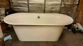 Bath, sink, toilet