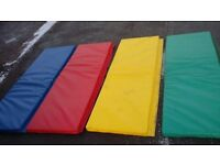 4 large interlocking school gym floormats yoga.