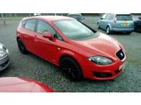 2012 Seat Leon 1.6 Diesel 5 Door Red very clean car Can be Seen anytime