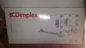 brand new 3kW Dimplex convector turbo heater