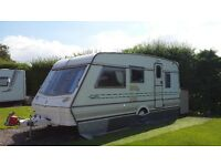 "Five Berth Abbey 516 GTS Vogue 1995 Touring Caravan with two awnings and all extras aka ""Freda"""