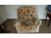 LUXURIOUS EASY CHAIR. SOFT, COSY AND COMFORTABLE - IDEAL FOR RELAXATION - TWO AVAILABLE