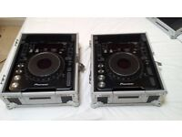 Two Pioneer CDJ 1000 MK2 DJ Decks