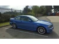BMW 318ci Estoril blue