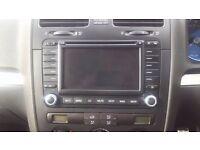 VW PASSAT B6 SAT NAV RADIO CD PLAYER BLAUPUNKT 1K0 035 198 B + CODE