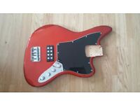 Loaded Jaguar Bass body - Humbucker with Active 3-band EQ