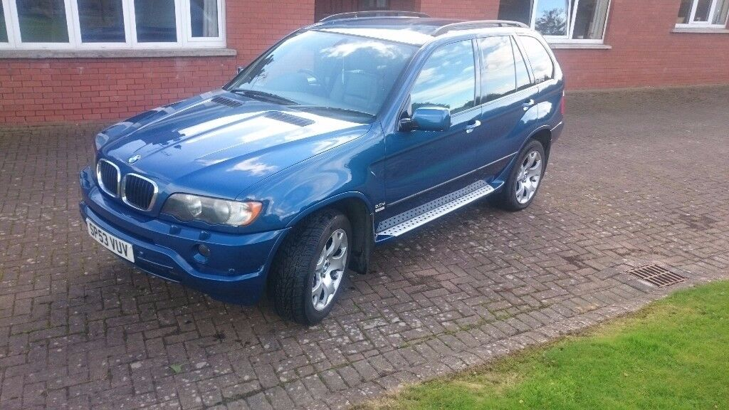 2003 BMW X5 3.0TD SPORT **LOWER ROAD TAX **