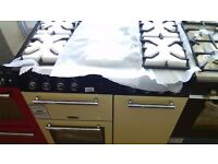 LEISURE dual fuel gas cooker 90cm new ex display