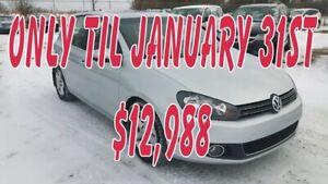 2012 Volkswagen Golf TDI Highline, Automatic, Leather, NAV, Powe