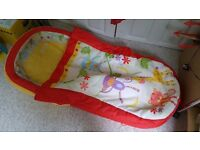 Toddlers inflatable bed.