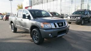 2015 Nissan Titan Pro 4x4, Leather, Navigation, Heated Seats