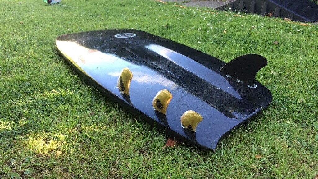 Ectic Concepts Asymmetric Regular Mini Simmons Surfboard In