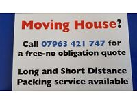 Man and van removals and storage newhaven