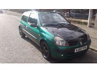 RENAULT CLIO 02 REG 1149CC £595 LIKE CORSA FIESTA PUNTO