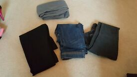 4 pairs of Size 6 trousers -primark