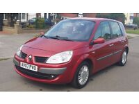 RENAULT MEGANE SCENIC 1.6 PETROL AUTOMATIC 7 SEATER 2007 )12 MONTHS MOT)SERVICE HISTORY