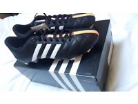 Adidas 11Questra FG leather football boots - BRAND NEW & BOXED