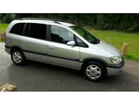 VAUXHALL ZAFIRA 2004/2.0 DIESEL 80000 MILES FULL SERVICE HISTORY /7 SEATER