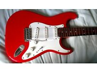CRAFTER (CRUISER) FULL SIZE Electric Guitar, FLAME RED, Amazing Condition