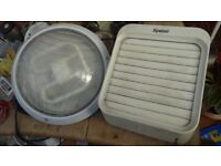 Xpelair extractor fan and Bathroom Flush Ceiling Light