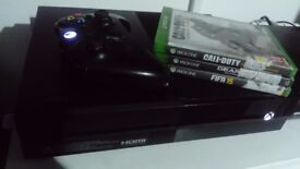 Xbox One 500gb (1st Gen) + 3 Games + One controller £140ono