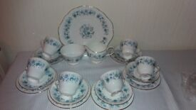 21 Piece Vintage Tea set