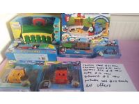 All brand new unopend thomas toy no offers