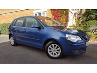 POLO 2007 1.4 SE , ONLY 33000 GENUINE MILES , MOT ( NO ADVISORY ) SUPERB