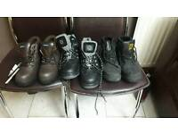 3 pair of safety boot