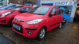 Hyundai i10. Full service history, new MOT, 6 month warranty. Beautiful conditon.