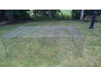 Animal run /enclosure suitable for rabbits /guinea pigs