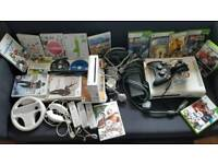 Xbox 360 & Nintendo Wii & Wii board and Wii fit