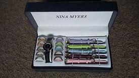 Nina Myers boxed watch sets