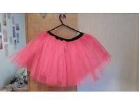 Pink Tutu - 80s Costume