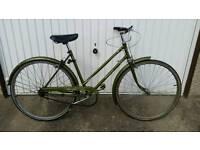 Hercules Balmoral, Vintage Ladies Bicycle For Sale in Good Riding Order