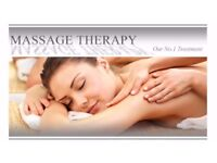 Professional therapies offering massage, waxing , tinting