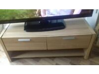 tv stand / tv unit / oak wood / see ad for measurements