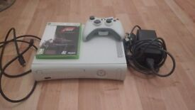 X BOX 360 console with Forza 3 Motorsport
