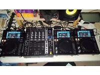 3x XJD 700 and 1x DJM 750 BRAND NEW with Warranty and Decksavers