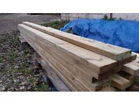 Treated Timber - C16 (4x2) 45 x 95 x 2400mm - Single