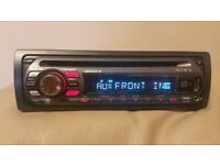 CAR HEAD UNIT SONY XPLOD MP3 CD PLAYER WITH USB AUX 4x 50 AMPLIFIER AMP STEREO RADIO