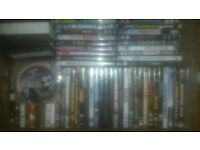 Sold in bulk DVDS around 60 in total including ps3 game call of duty black ops