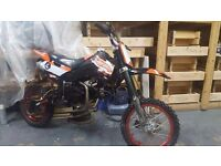 125cc oil cooled pit bike